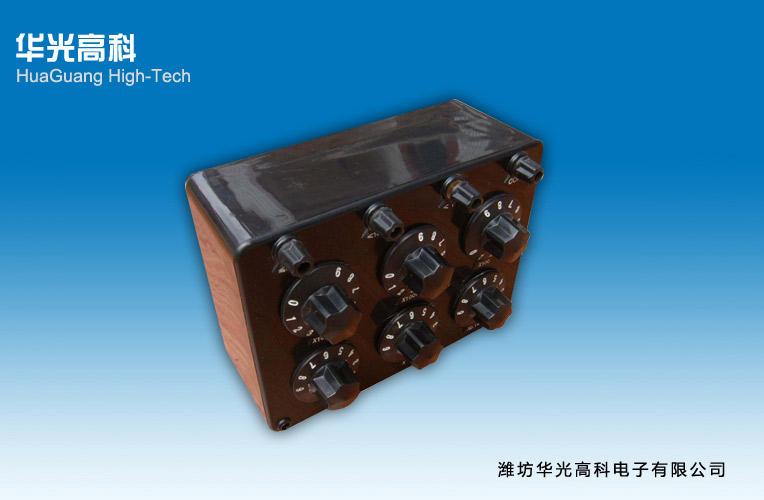 zx21,zx21a型直流电阻箱